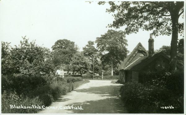 blacksmiths corner 1933