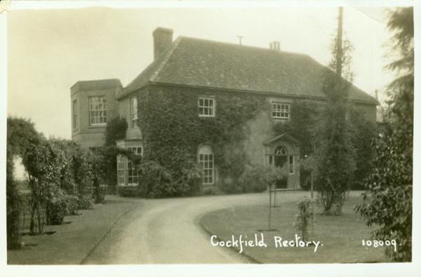 cockfield rectory