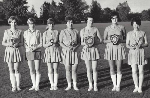 Netball Team 1968