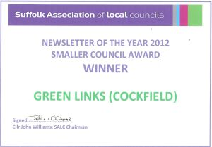 Green Links Certificate