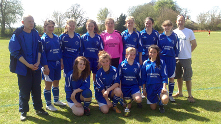 Lawshall & Cockfield Girsl Football Club
