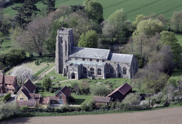 St Peter's Church Aerial View