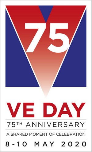 VE Day 7th Anniversary Logo