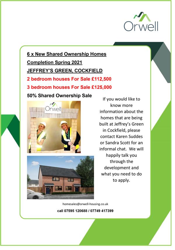 Re Jeffrey's Green properties