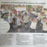 Cockfield School fundraising achievement